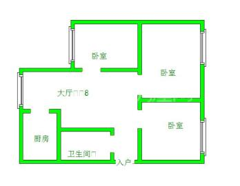 东坡小区  3室2厅1卫    135.0万