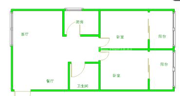 知贤坊  2室2厅1卫    154.0万