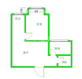 千和馨城  1室1厅1卫    70.0万