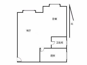 金沙芙蓉苑  1室1厅1卫    81.0万