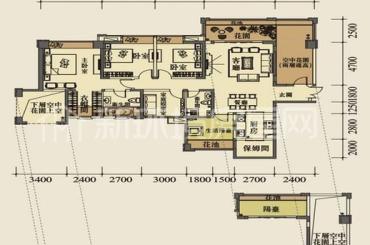 成都天府世家  6室4厅3卫    1260.0万