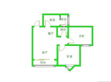 欧苑  2室2厅1卫    121.0万