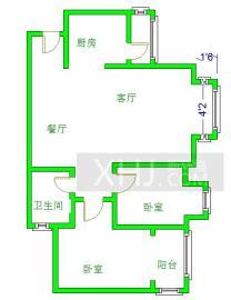 清江之春  2室2厅1卫    168.0万