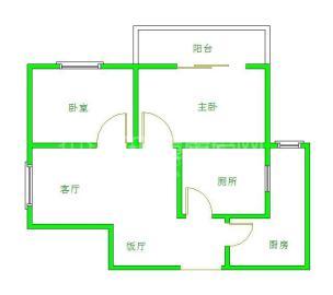 光华杏林  2室2厅1卫    2300.0元/月