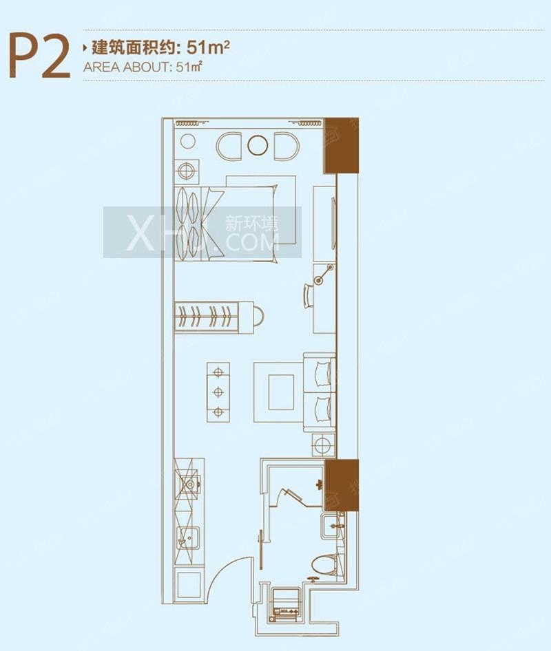 泊富国际广场户型图