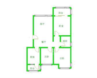 大地锦苑  3室2厅2卫    225.0万