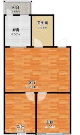 长顺家园  2室1厅1卫    1600.0元/月