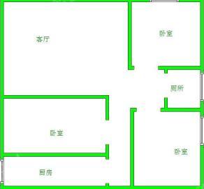 南湖锦苑  1室1厅1卫    1200.0元/月