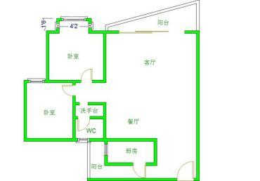碧华邻  2室2厅1卫    255.0万