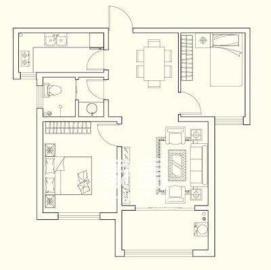 林业厅宿舍  3室2厅1卫    1700.0元/月