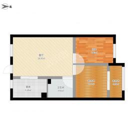 长顺家园  2室1厅1卫    1333.0元/月