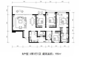 龙湖世纪峰景  4室2厅2卫    8000.0元/月