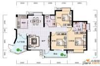 金陽世紀城龍泉苑  3室2廳2衛    2700.0元/月