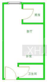 汇锦广场  1室0厅1卫    2200.0元/月