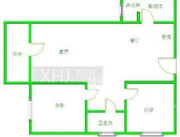 南湖国际1期  2室1厅1卫    152.0万