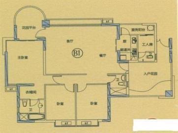 丽晶温泉海景花园(一期)  3室2厅2卫    246.8万