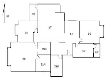 中大君悦金沙一期  3室2厅2卫    381.0万