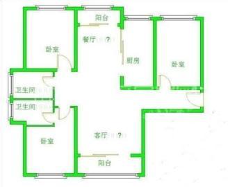 南湖锦苑  2室2厅1卫    1500.0元/月