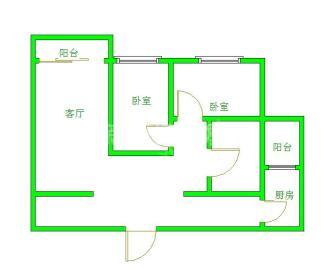 香木林新城  2室1厅1卫    2200.0元/月