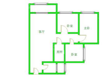 天府美岸  3室2厅2卫    190.0万