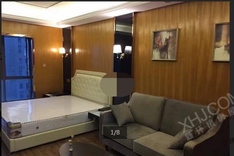 保利国际广场,精装平层公寓,可租2800每月,正地铁口潜力大