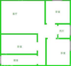 每日香山半岛  3室2厅1卫    2100.0元/月