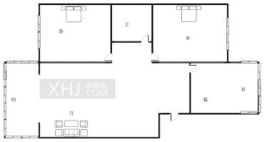华夏之家  2室1厅1卫    99.0万