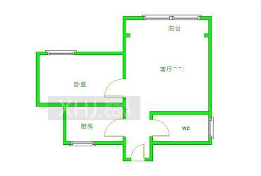 中大君悦金沙七期  1室1厅1卫    140.0万