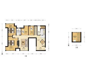 中海兰庭  3室2厅1卫    268.0万