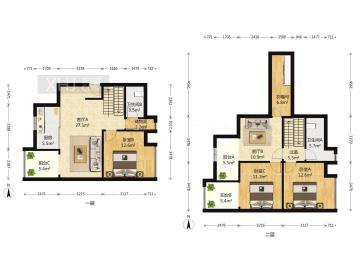 保利百合花园  3室2厅2卫    345.0万