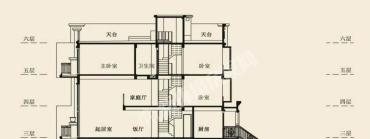 盈峰翠邸  3室3廳3衛    4300.0元/月