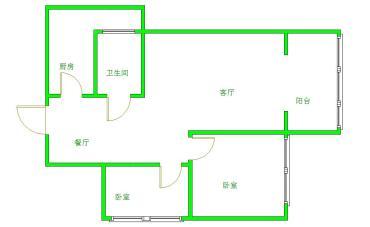 清江之春  2室1厅1卫    169.0万