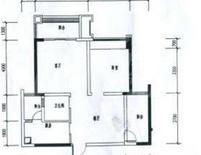 长顺家园  1室1厅1卫    1250.0元/月