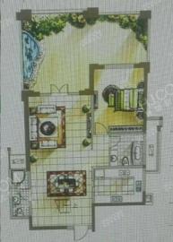 成南领寓  2室1厅1卫    1600.0元/月