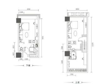 汇锦广场  2室1厅1卫    4500.0元/月
