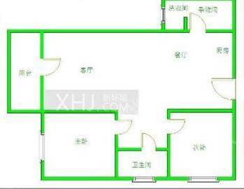 南湖国际1期  2室1厅1卫    140.0万