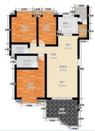 城南名著  3室2厅2卫    220.0万