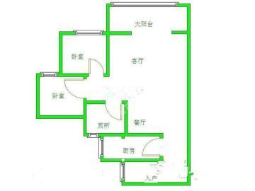长顺家园  2室1厅1卫    1500.0元/月
