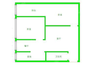 成南领寓  2室2厅1卫    81.8万