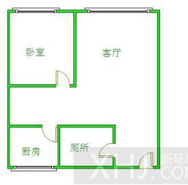 金沙美邻丽锦苑  1室1厅1卫    1500.0元/月