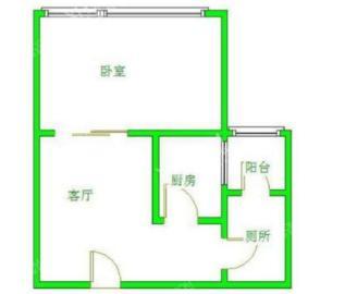 南湖锦苑  2室1厅1卫    1500.0元/月