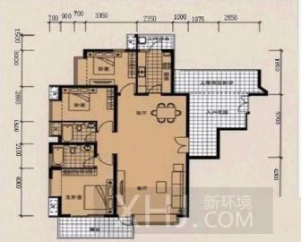 南城都汇2A期  2室1厅1卫    202.0万