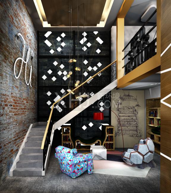 香江红星家具建材博览中心样板图