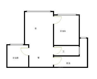 美城云庭  2室2厅1卫    176.0万