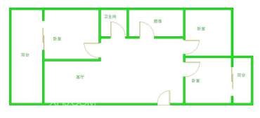 江郊庭苑  3室2厅1卫    295.0万