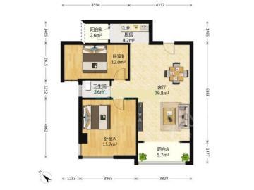 印象金沙  2室2厅1卫    185.0万