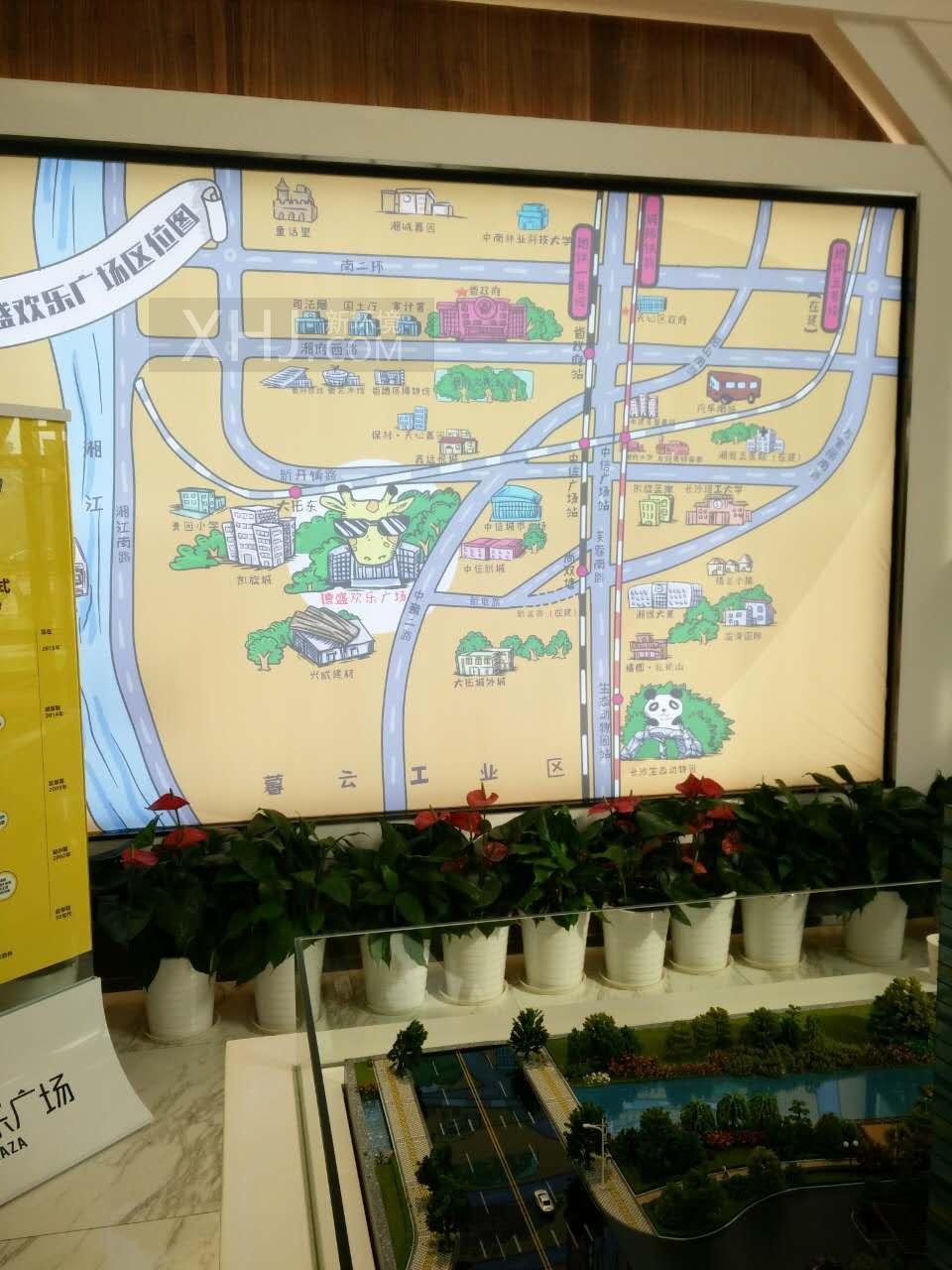 德盛欢乐广场规划图